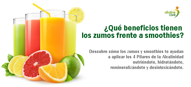 Smoothies y zumos Alkaline Care
